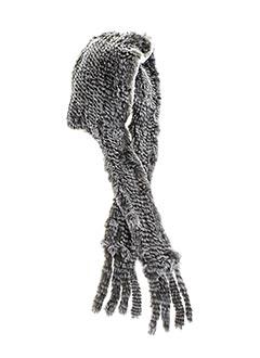 Bonnet gris AMBER pour femme