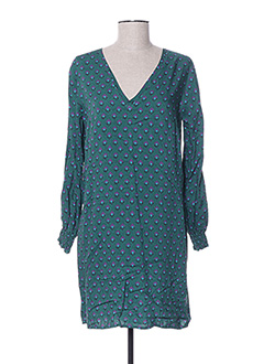 Robe courte vert AN' GE pour femme