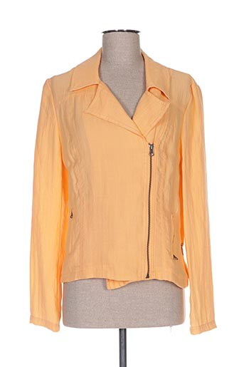 Veste chic / Blazer orange LOLA ESPELETA pour femme