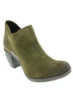 Bottines/Boots vert FLY LONDON pour femme
