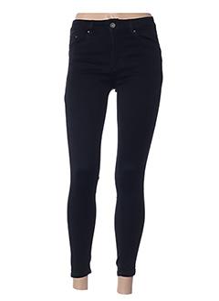 Pantalon casual noir ANA LUCY pour femme