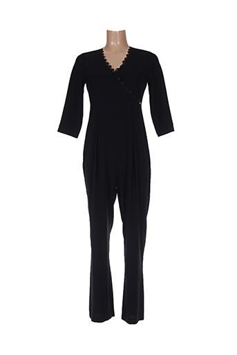 Combi-pantalon noir FERRACHE pour femme