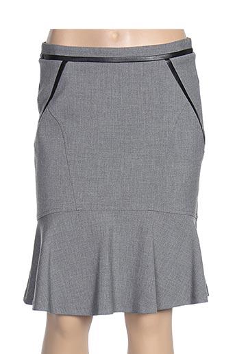 Jupe mi-longue gris GERARD DAREL pour femme