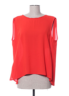 Top rouge FRNCH pour femme