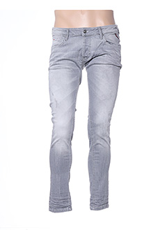 Jeans skinny gris AAKON MOEW pour homme