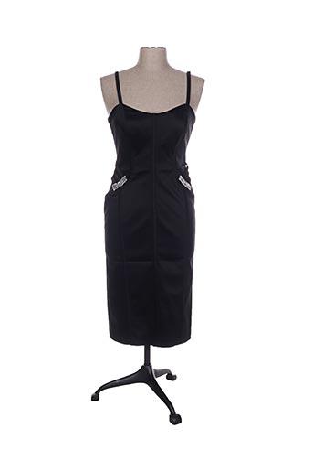 Robe mi-longue noir D.U.S.K pour femme