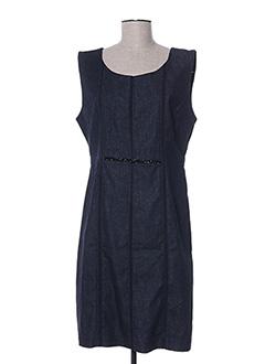 Robe mi-longue bleu FUEGO WOMAN pour femme