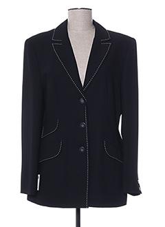 Veste chic / Blazer noir ARA pour femme