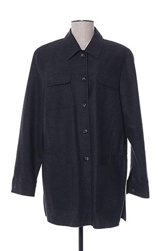Veste casual gris HUCKE WOMAN pour femme