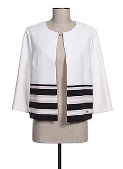 Veste chic / Blazer blanc FUEGO WOMAN pour femme