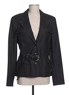 Veste chic / Blazer noir LAUREL pour femme