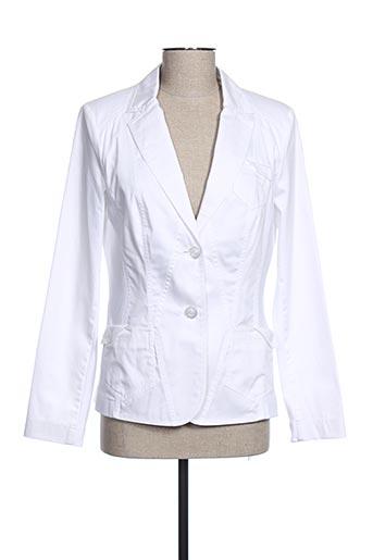 Veste chic / Blazer blanc LUCIA pour femme