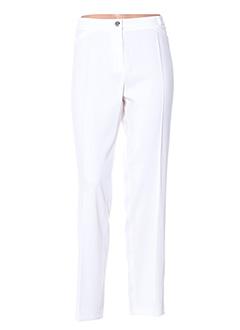 Pantalon chic blanc DIVAS pour femme