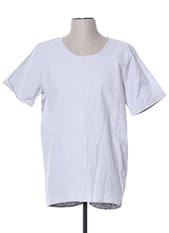 T-shirt manches courtes gris HIMSPIRE pour homme