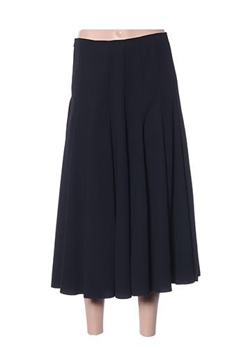 Jupe longue noir ALOUETTE pour femme