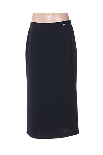 Jupe longue noir E & H pour femme