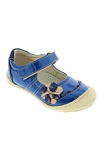 Bottillons bleu ROMAGNOLI pour fille