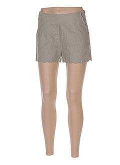 Produit-Shorts / Bermudas-Femme-GRACE & MILA