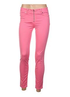 Pantalon 7/8 rose AIRFIELD pour femme