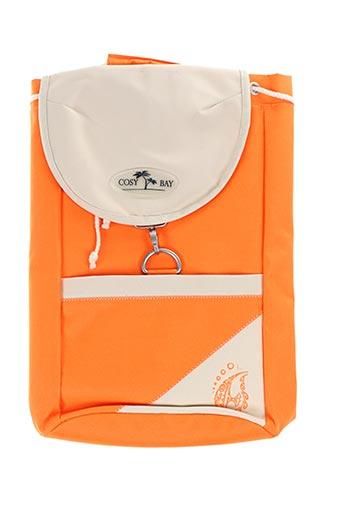 Sac à dos orange COSY BAY pour femme