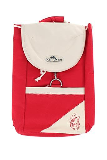 Sac à dos rouge COSY BAY pour femme