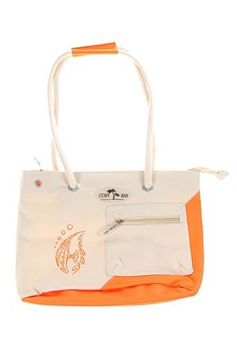 Sac orange COSY BAY pour femme
