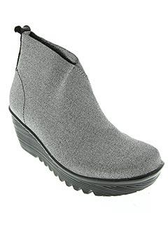 Bottines/Boots gris BERNIE MEV pour femme