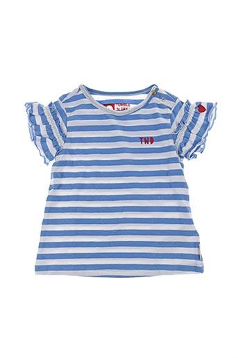 T-shirt manches courtes bleu TUMBLE'N DRY pour fille