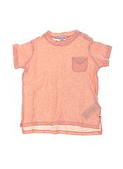 T-shirt manches courtes orange MON MARCEL pour enfant seconde vue