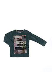 T-shirt manches longues vert TUMBLE'N DRY pour garçon seconde vue