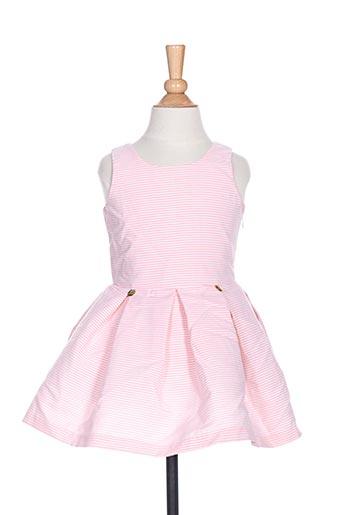 Robe mi-longue rose CHUA pour fille