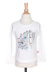 T-shirt manches longues blanc BILLIEBLUSH pour fille seconde vue