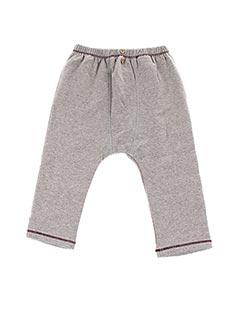 Pantalon casual gris CARREMENT BEAU pour garçon