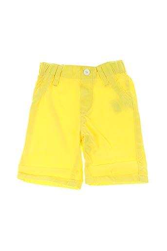 Bermuda jaune BILLYBANDIT pour garçon