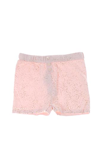 Short rose BILLIEBLUSH pour fille