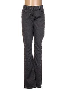 Jeans coupe droite gris CARREMENT BEAU pour garçon