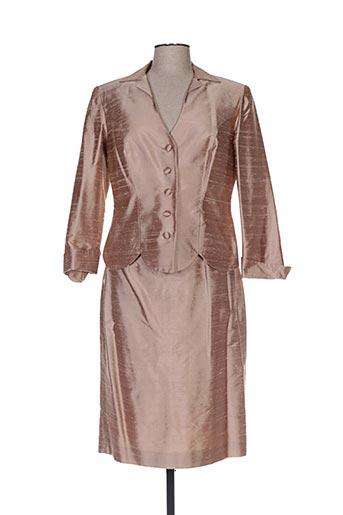 Veste/jupe beige CLAIRMODEL pour femme