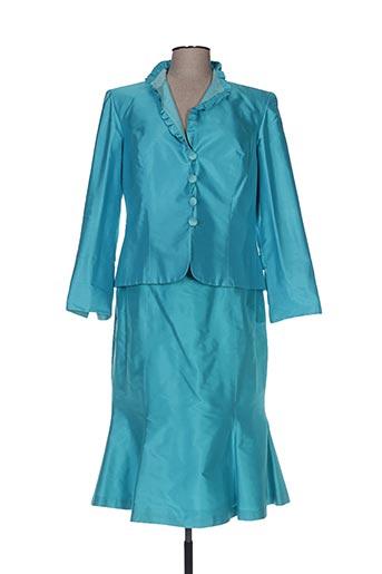 Veste/jupe bleu CLAIRMODEL pour femme