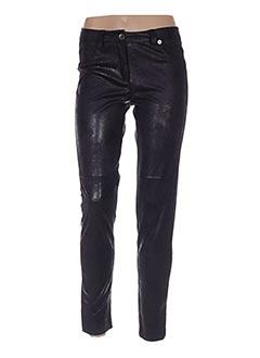 Pantalon casual noir DANIELA COOL pour femme