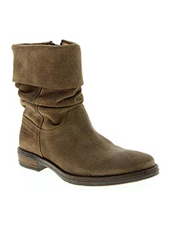 Bottines/Boots marron NINETTE EN FLEUR pour fille