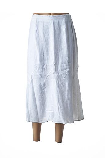 Jupe longue blanc FRANCOISE DE FRANCE pour femme