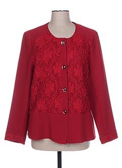 Veste chic / Blazer rouge GRIFFON pour femme