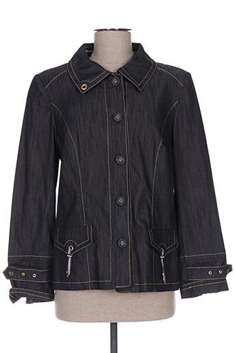 Veste en jean noir PAUPORTÉ pour femme