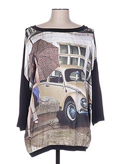 T-shirt manches longues noir ALLEGRO pour femme