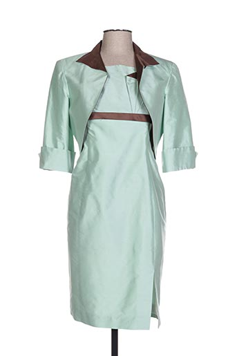 Veste/robe vert CLAIRMODEL pour femme