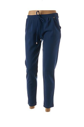 Pantalon casual bleu EGO pour femme