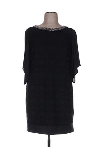 Robe courte noir ANA SOUSA pour femme