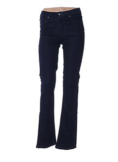 Jeans bootcut bleu MENSI COLLEZIONE pour femme