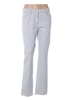 Jeans coupe slim gris ATELIER GARDEUR pour femme