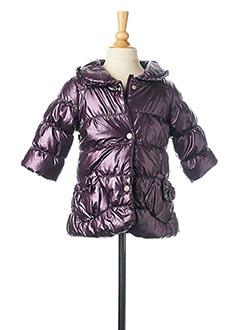 Doudoune violet 3 POMMES pour fille
